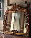 Frame inspired by Louis XV baroque style