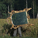 Frame inspired by rococo era perfect for mirror