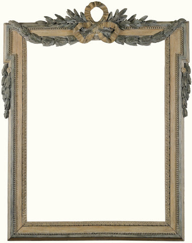 Frame with ribband and delicate swags