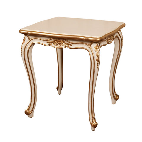Side Tables / Stool with classic floral Louis XV sensibilities