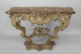 Console Table of textbook Venetian Rococo eccentricity