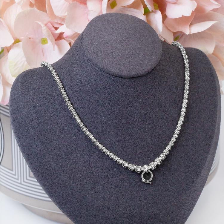 Total 5ct Diamond Necklace