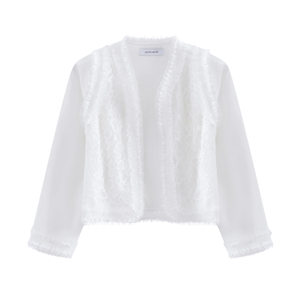 Luxury Lace Chiffon Jacket