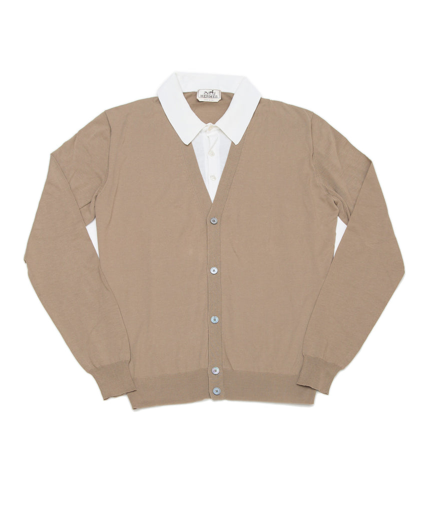 Men's Buttoned Cardigan