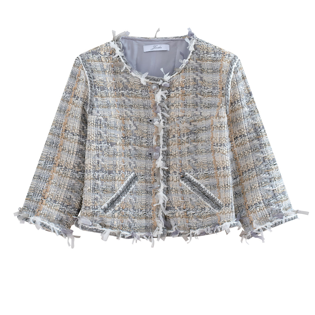 Multi-thread Tweed Jacket