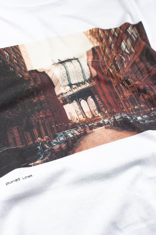 T-Shirt photo de l'artiste 'Nrviphoto's' -Blurred Lines