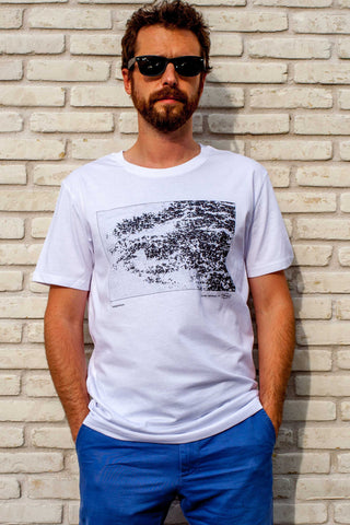 tshirt photo original homme topografikeyes PIED 1