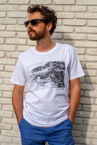 t-shirt photo original homme topografikeyes PIED 2