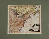"1750s ""The United States of America Drawn From the Latest Authorities"""
