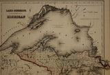 "1855 J.H. Colton ""Lake Superior and the Northern Part of Michigan"""