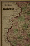 "1874 Gray's Atlas Map of ""Illinois"""
