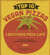 Vegan Margherita Pizza - 6 Pies * HOT SELLER* Limited Time FREE SHIPPING INCLUDED