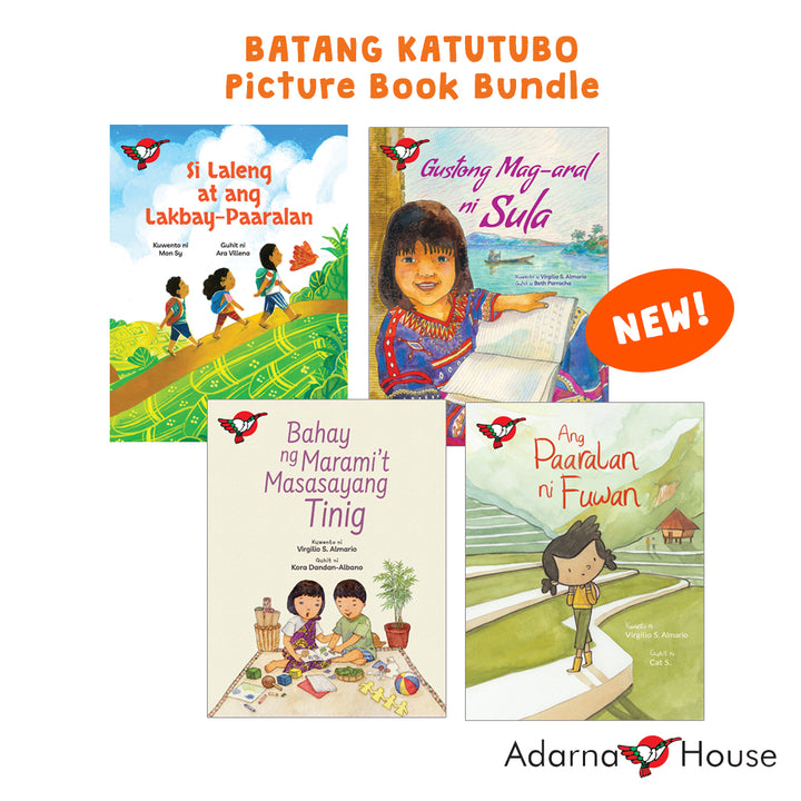 Batang Katutubo Picture Book Bundle (August 2020)