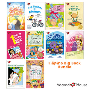 Filipino Big Book Bundle (10 big books)