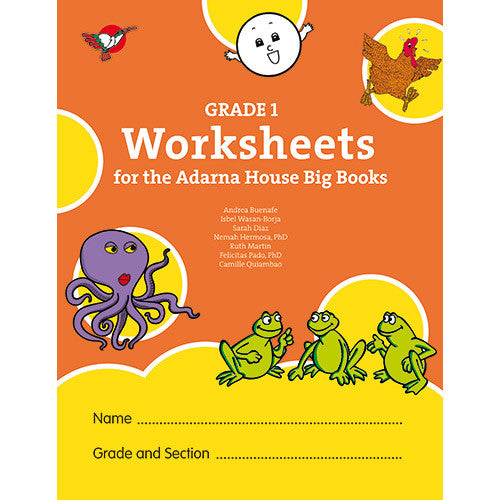 Grade 1 Worksheets for the Adarna House Big Books