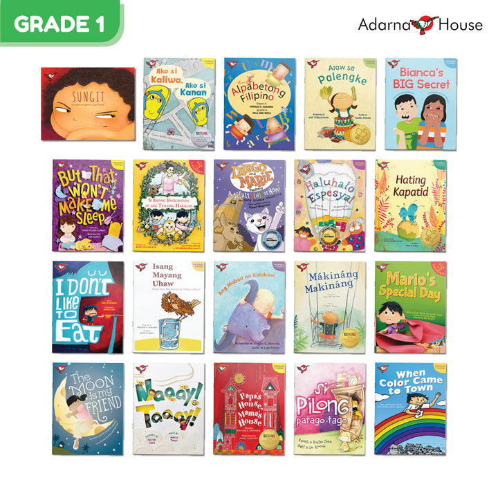 Grade 1 Gift Bundle (20 picture books)