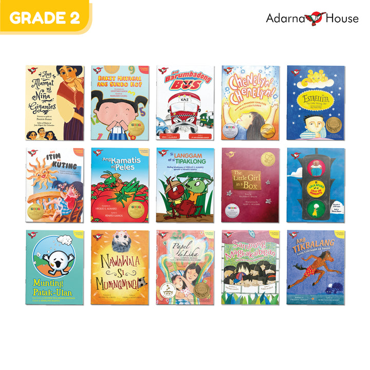 Grade 2 Gift Bundle (15 picture books)