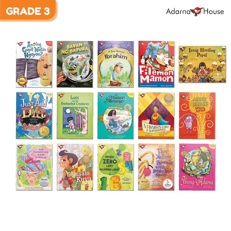 Grade 3 Gift Bundle (15 picture books)