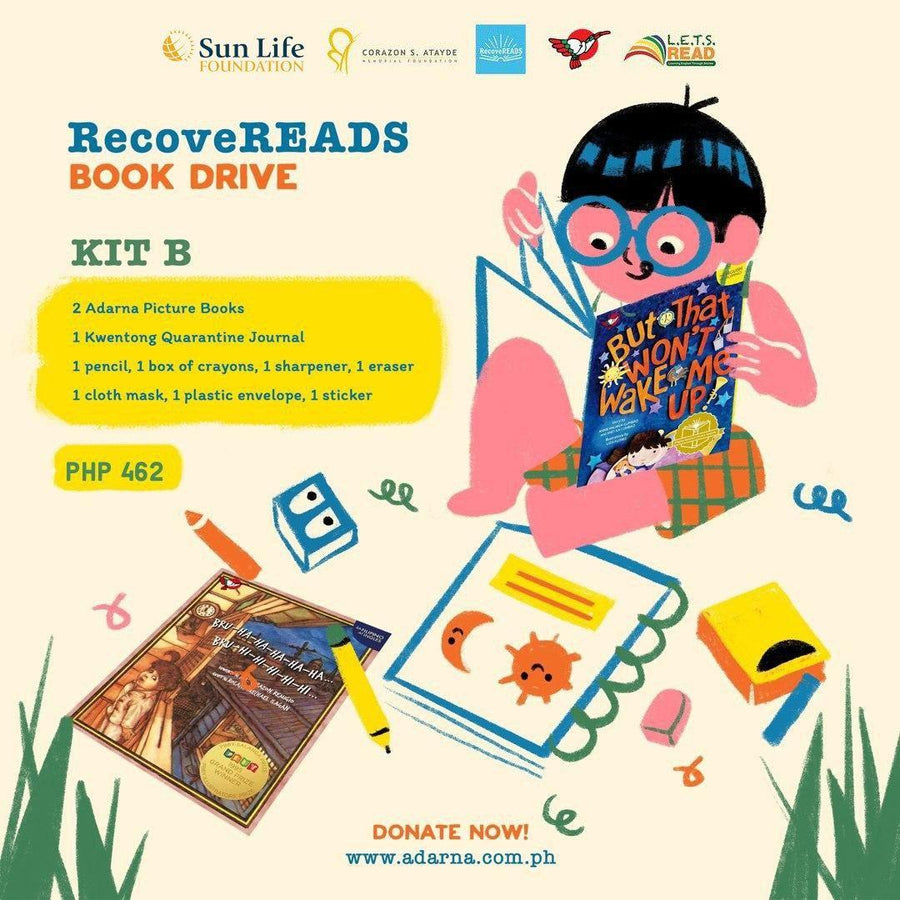 Donate to Recovereads - Kit B (2 Books + RecoveREADS Kit)