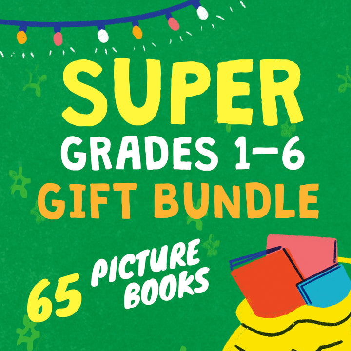 SUPER GRADES 1-6 GIFT BUNDLE (65 picture books)