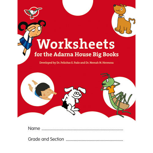 Worksheets for the Adarna House Big Books