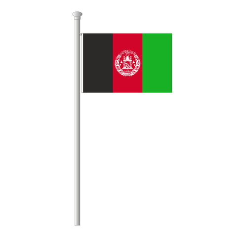 Afghanistan Flagge Querformat