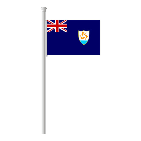 Anguilla Flagge Querformat