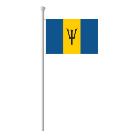 Barbados Flagge Querformat