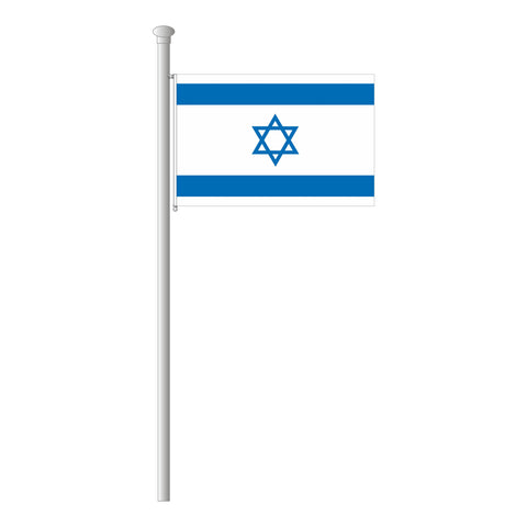 Israel Flagge Querformat