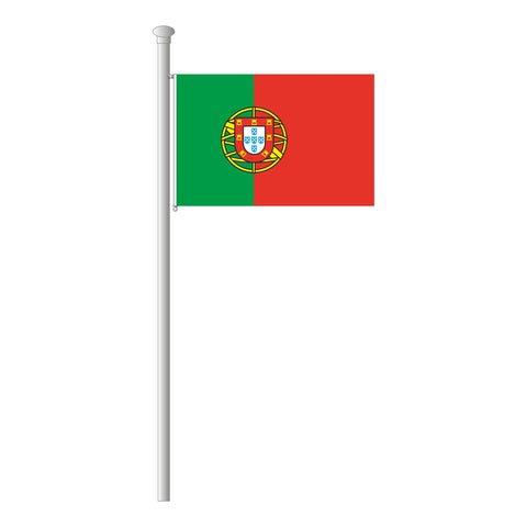 Portugal Flagge Querformat