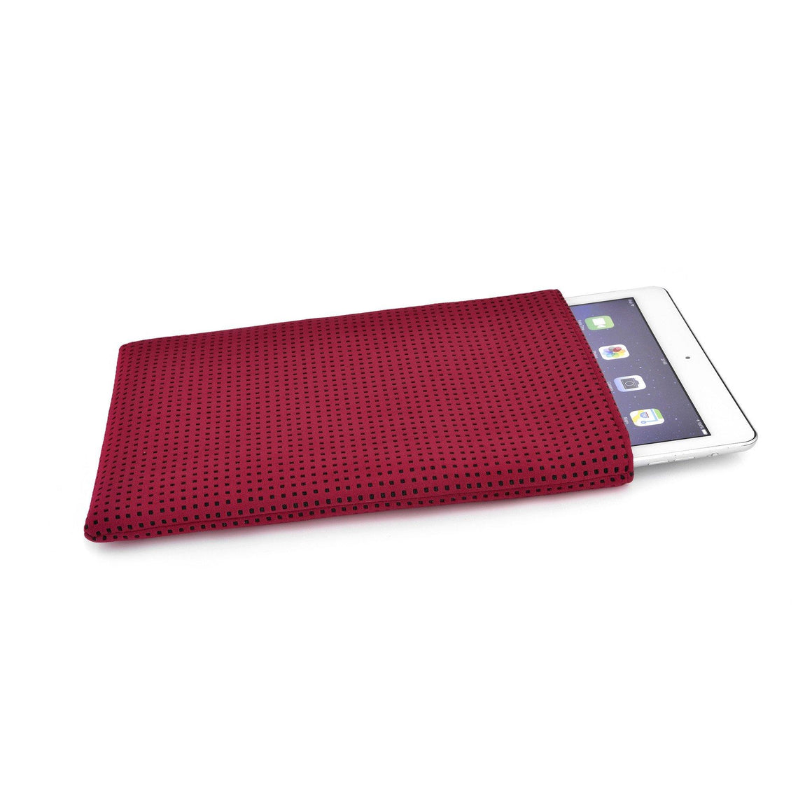 iPad Alcantara Maroon - Wrappers UK