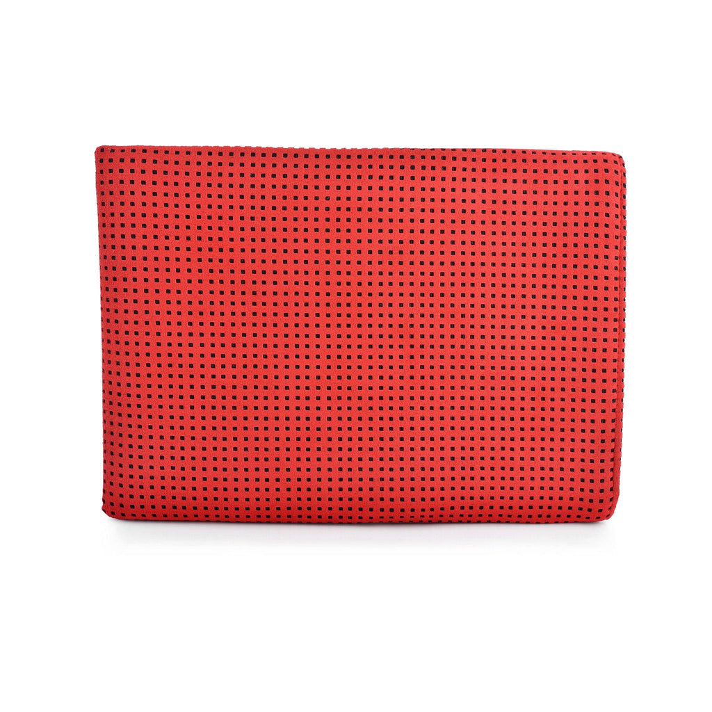 iPad Alcantara Red