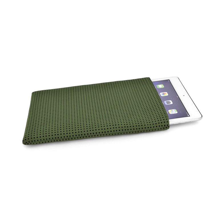 iPad Alcantara Green - Wrappers UK
