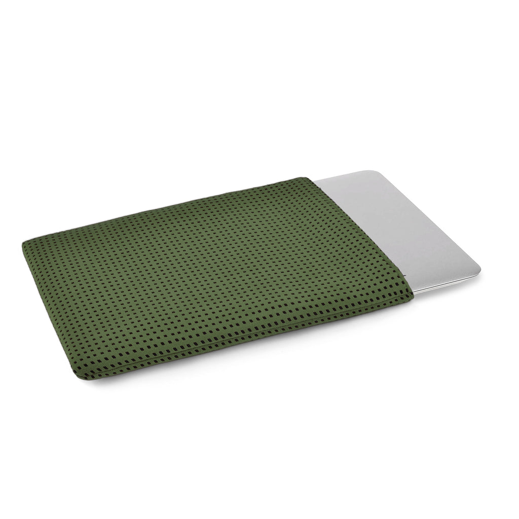 MacBook Alcantara Green