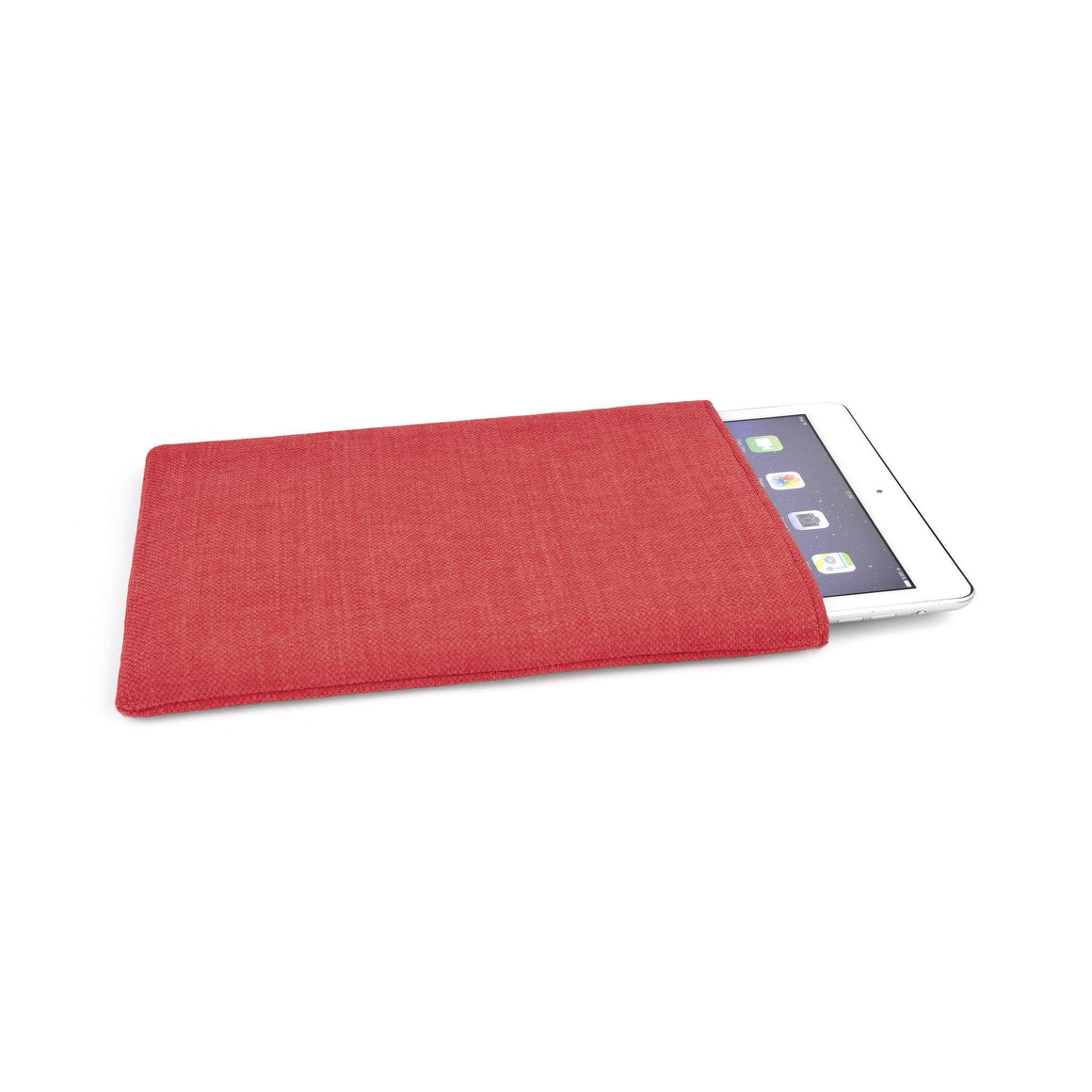 iPad Pro Linen Red 12.9 - Wrappers UK