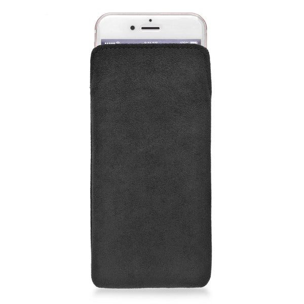 iPhone Alcantara Pouch Black