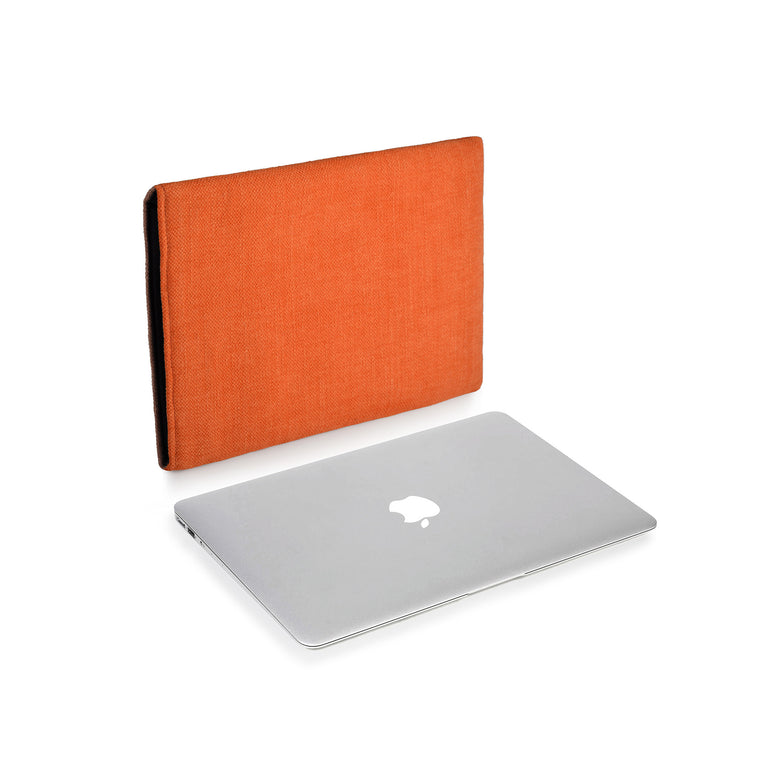 MacBook Linen Tangerine - Wrappers UK