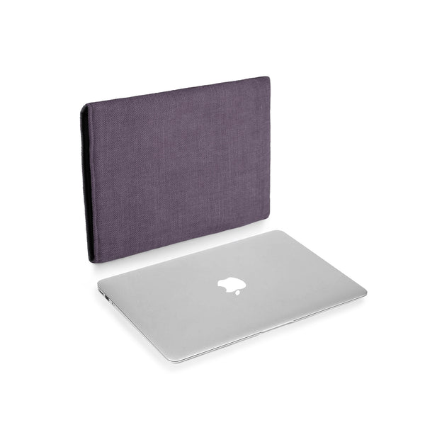 MacBook Linen Mulberry