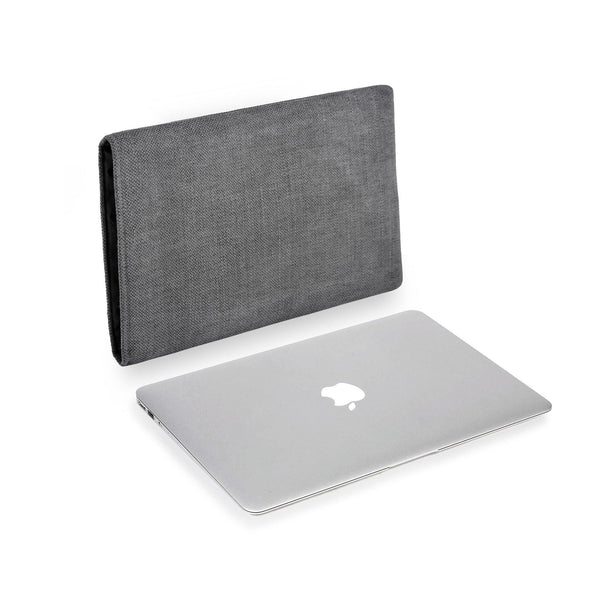 MacBook Linen Charcoal
