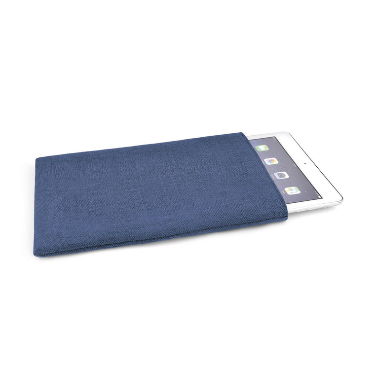 iPad Linen Soldier Blue - Wrappers UK