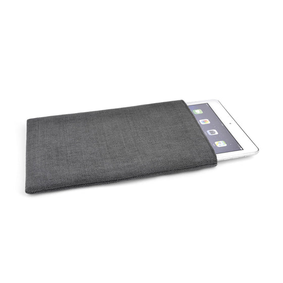 iPad Linen Charcoal - Wrappers UK