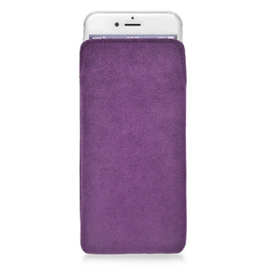 iPhone Alcantara Pouch Lilac - Wrappers UK