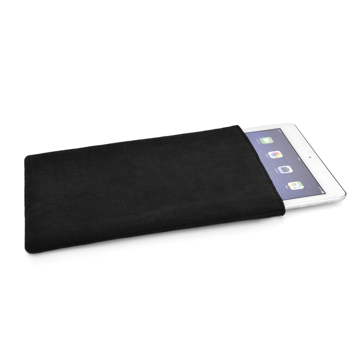 iPad Linen Black - Wrappers UK