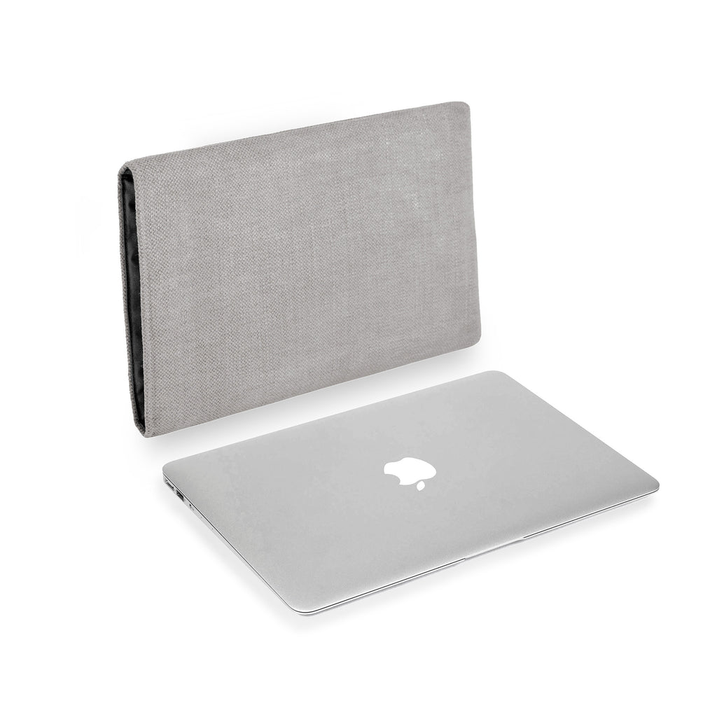 MacBook Linen Silver Grey