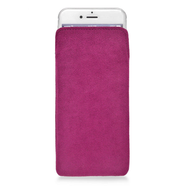 iPhone Alcantara Pouch Pink