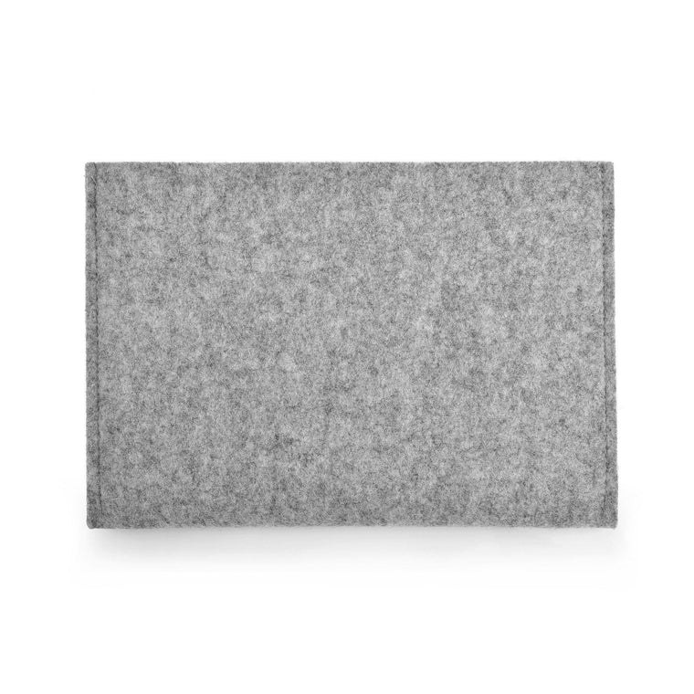 iPad Pro 12.9 inch Wool Felt Cover Grey Landscap - Wrappers UK
