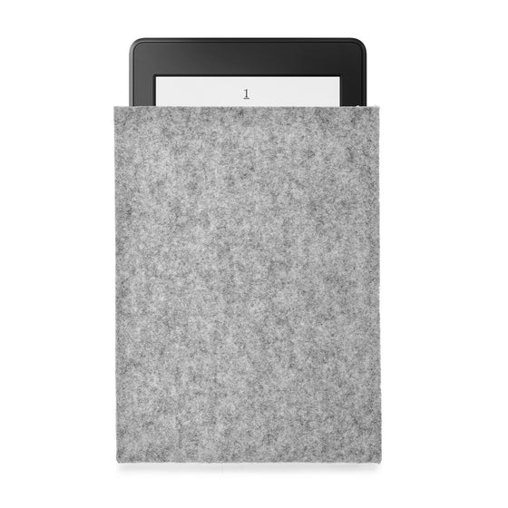 Kindle Wool Felt Grey Portrait - Wrappers UK