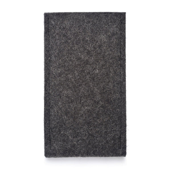 iPhone Wool Felt Cover Charcoal