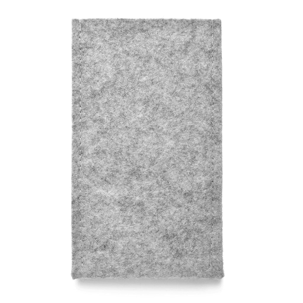 iPhone Wool Felt Cover Grey - Wrappers UK
