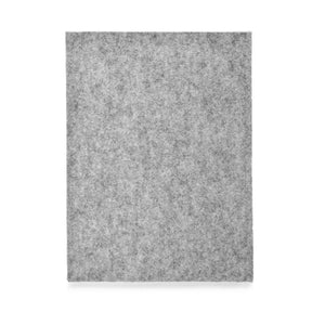 iPad Pro Wool Felt Cover Grey Portrait 9.7 - Wrappers UK